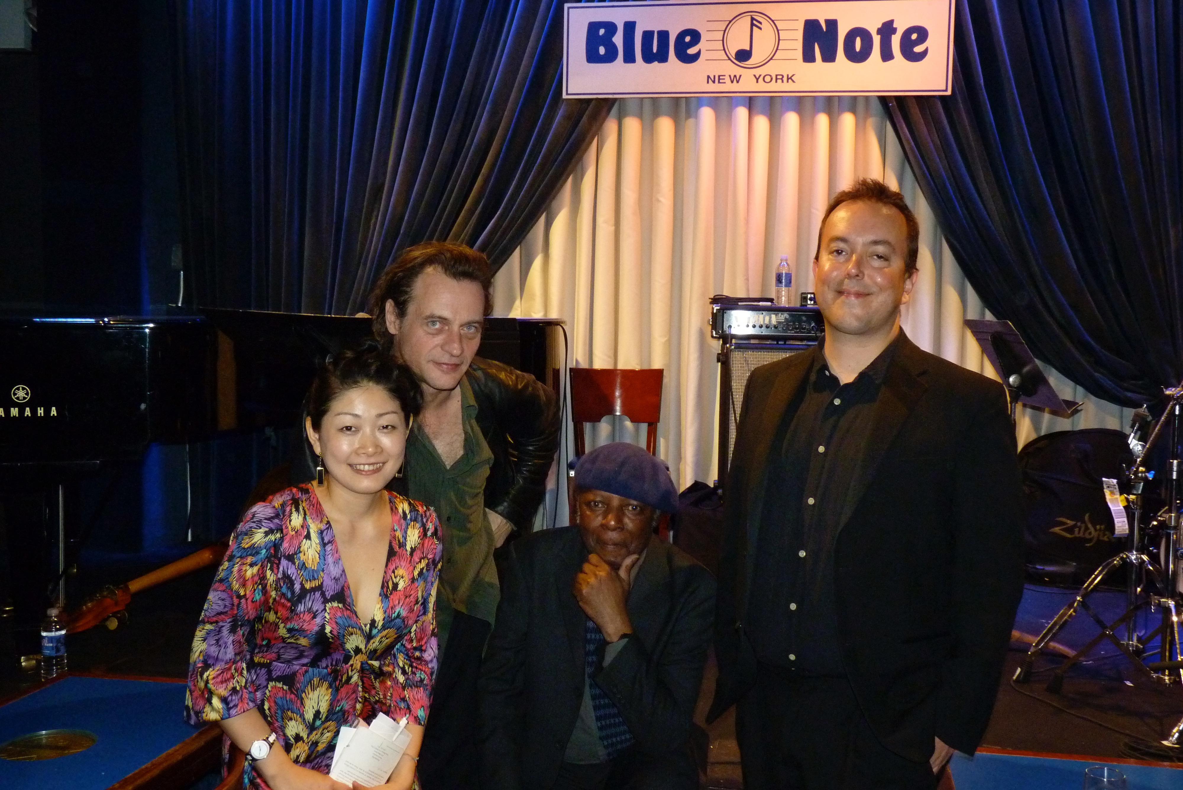 Kyoko Oyobe Quartet at Blue Note 2012