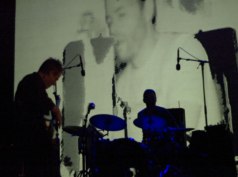John Paul Jones and Arve Henriksen, Performing with Supersilent at Punkt 2010