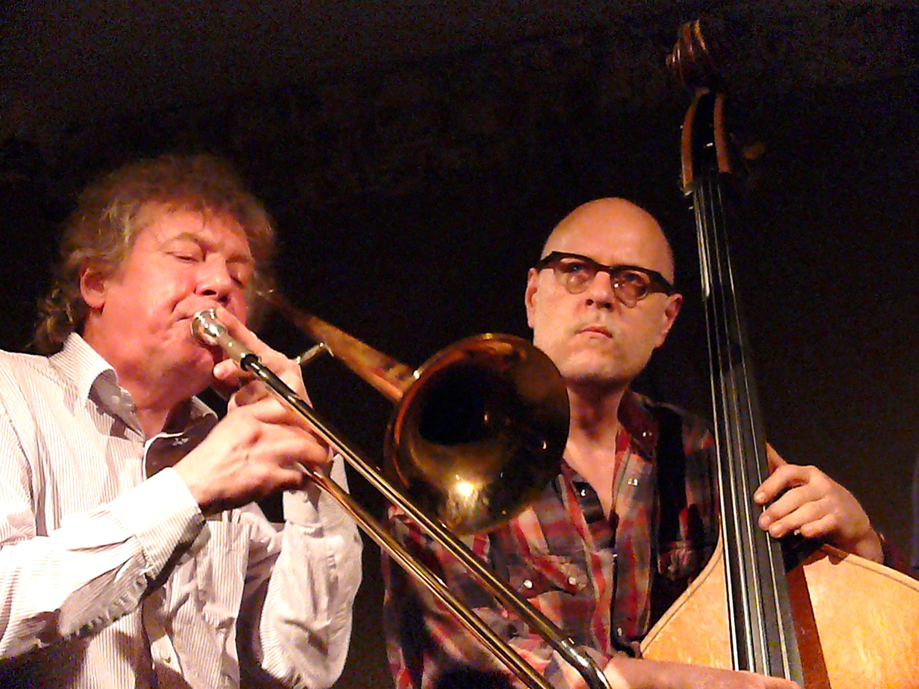 Johannes Bauer and Kent Kessler at Cafe Oto, London