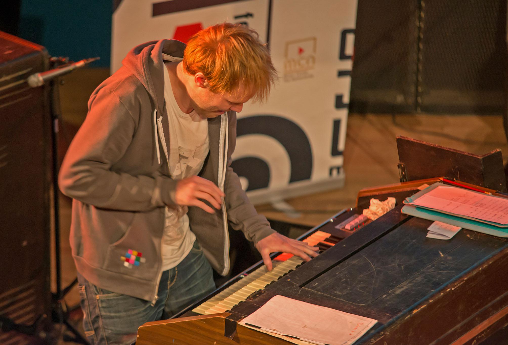 Pumporgan at Dutch Jazz & World Meeting 2012. Pictured: Wilbert