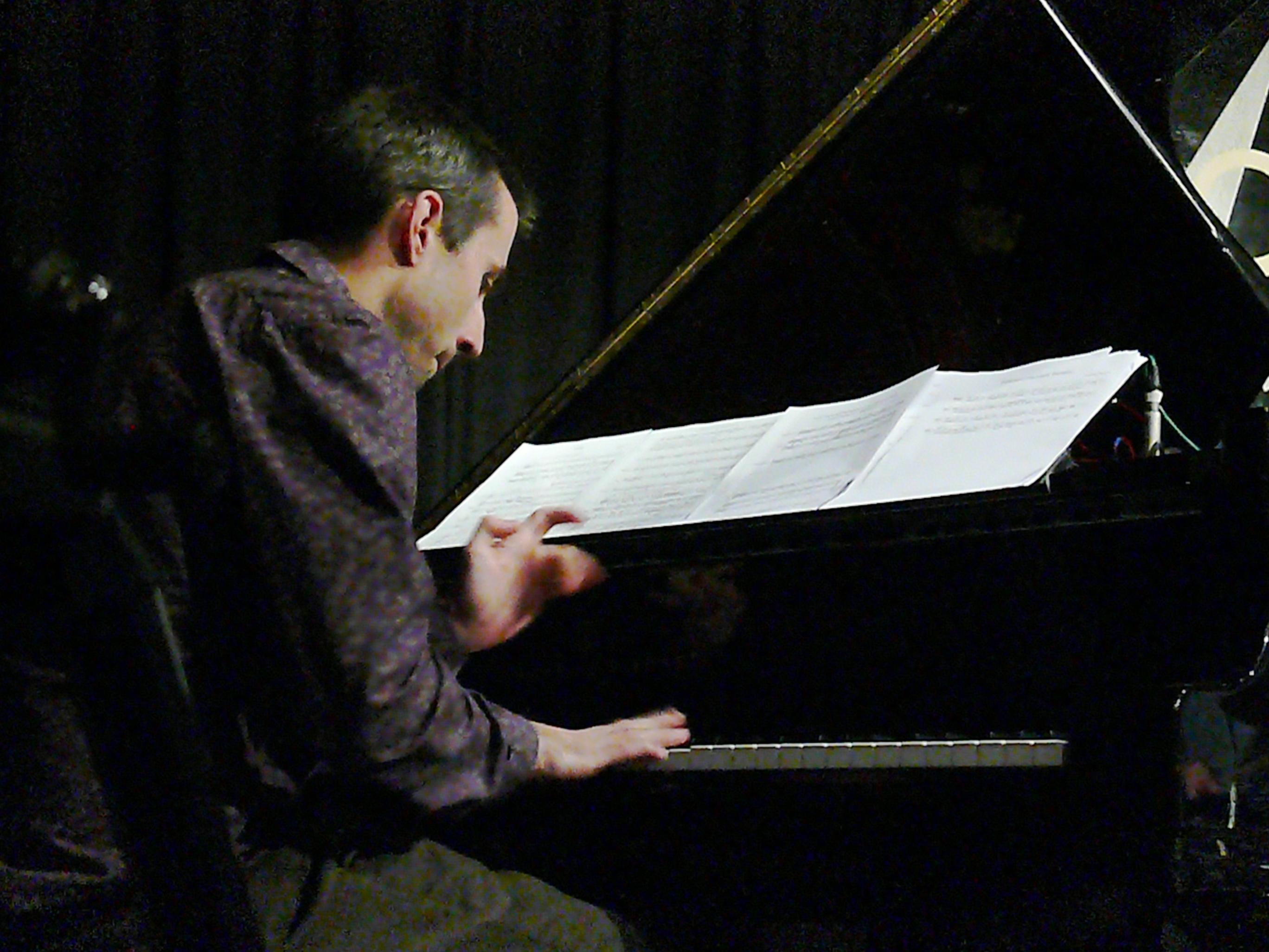 Alexander hawkins at the vortex, london in october 2013