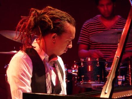 Gerald Clayton & Justin Brown at 2010 Tri-C Jazzfest Cleveland