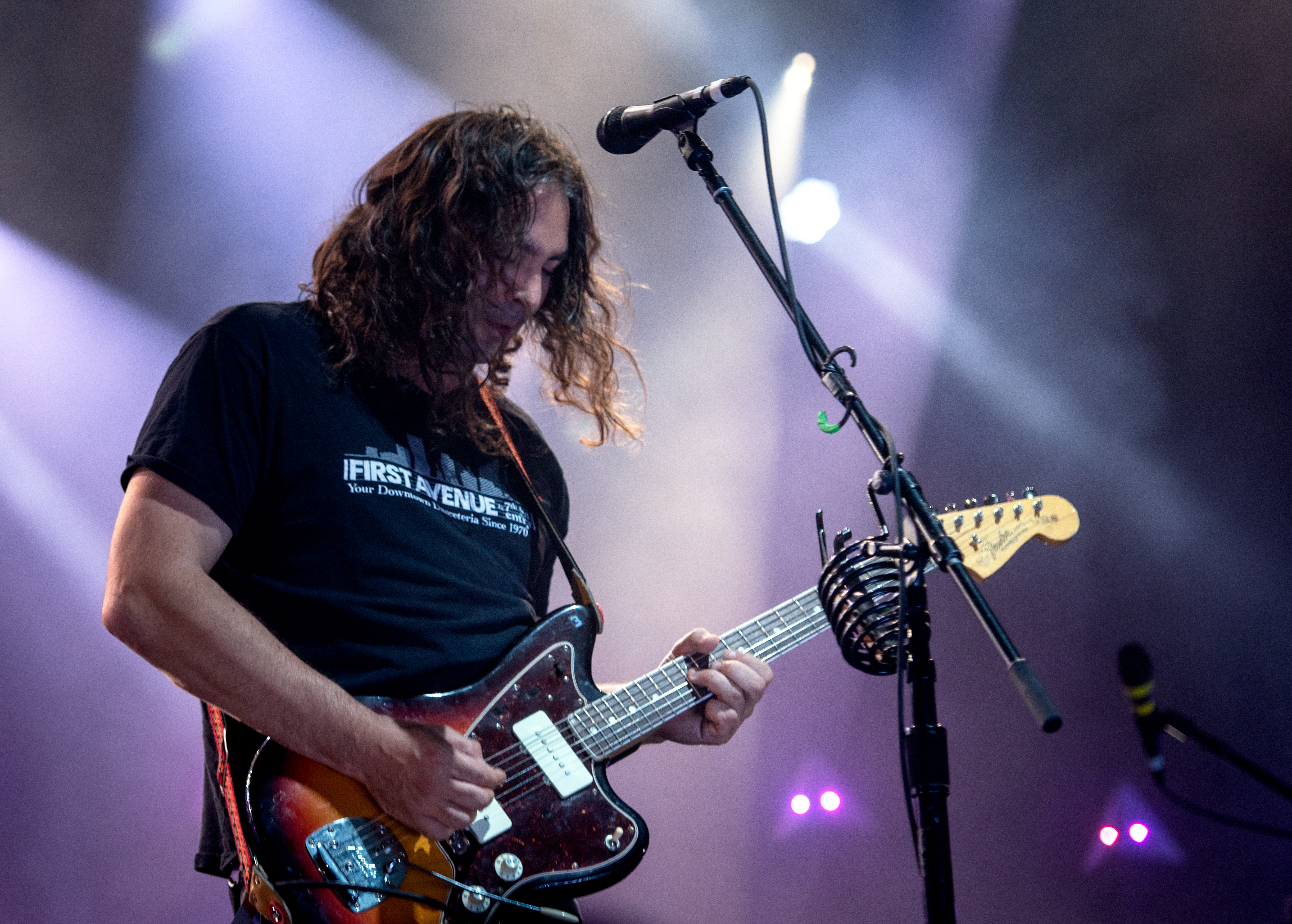 Adam Granduciel with the War on Drugs at The Montreal International Jazz Festival 2018