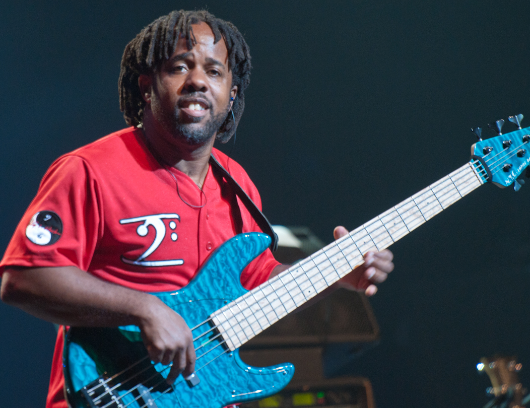 Victor Wooten with Bela Fleck and the Flecktones at the Montreal International Jazz Festival 2011
