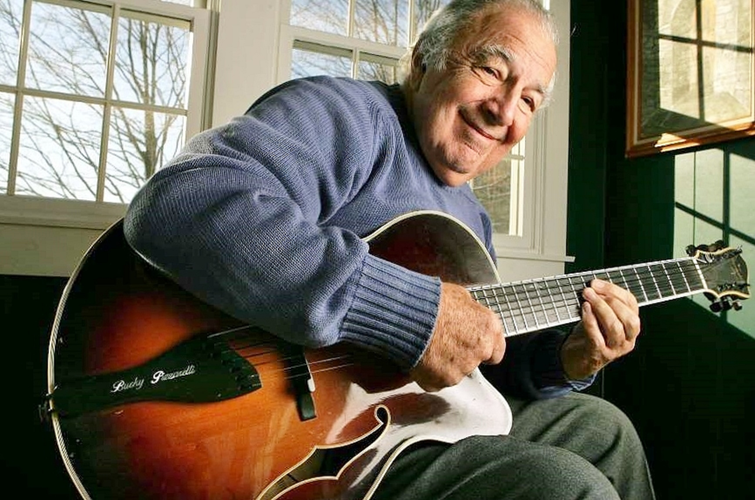 Bucky Pizzarelli at Home