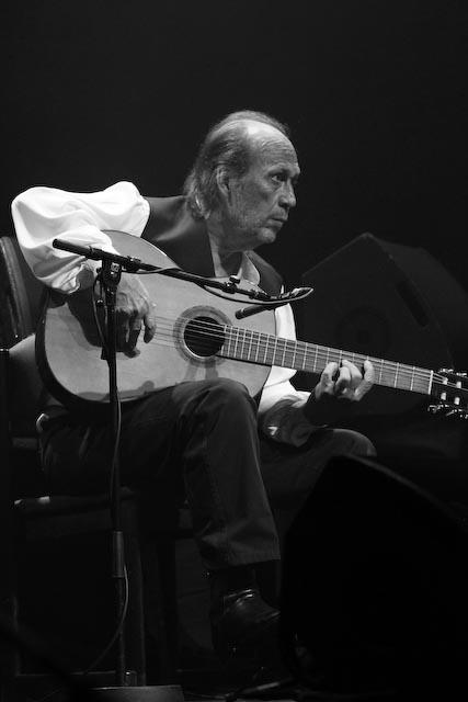 Paco de lucia at concert in copenhagen on the 22nd of june 2013