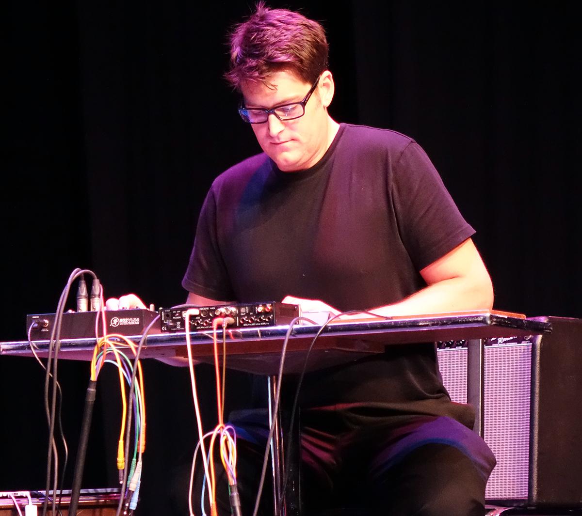 Sam Pluta at Guelph Jazz Festival 2015