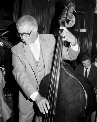 Red Callender 0325311 Kettner's Soho London Nov. 1985 Images of Jazz