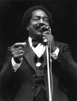 Jimmy Witherspoon at the Monterey Jazz Festival in 1976