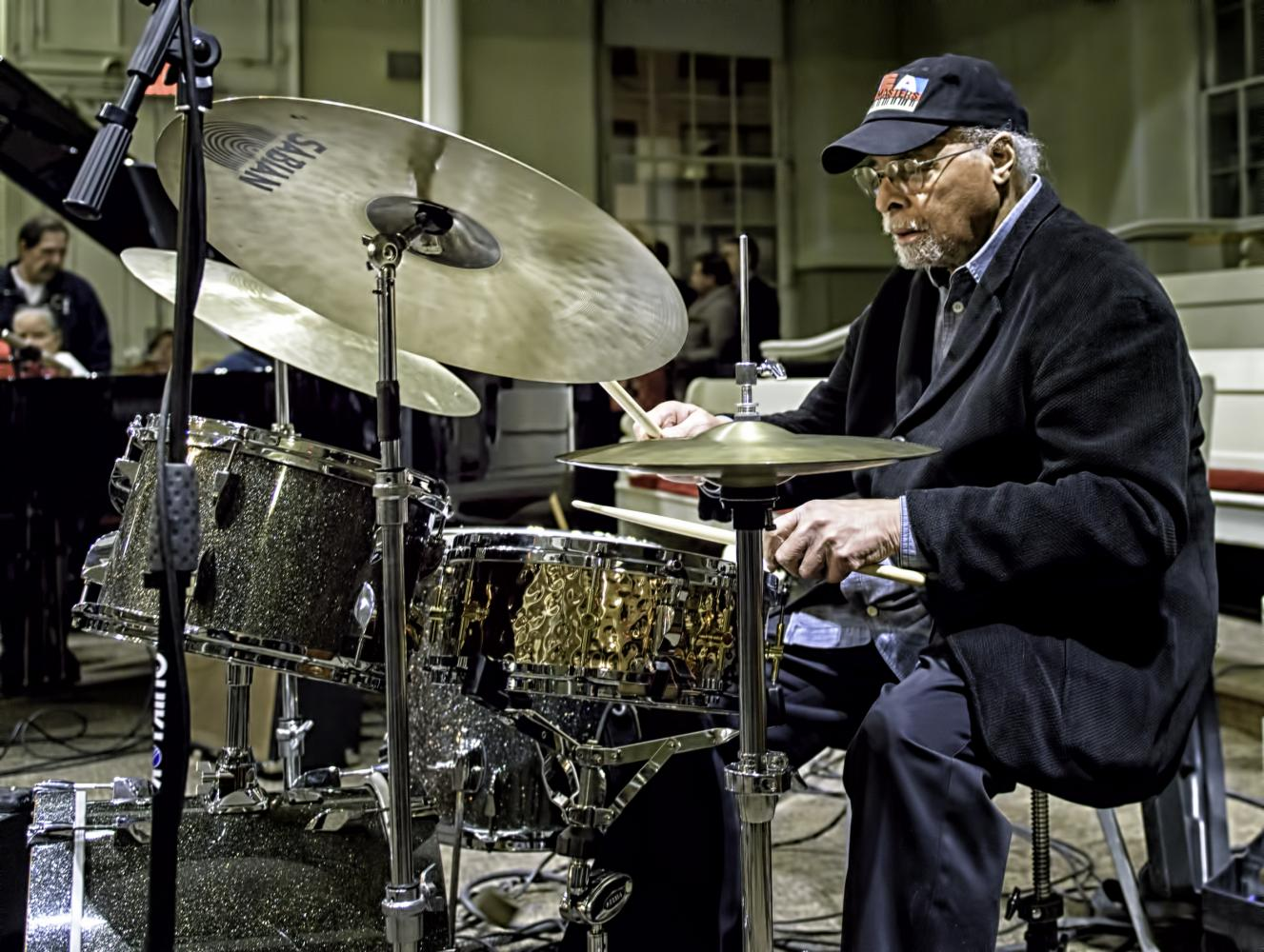 Jimmy Cobb At The Jazz Legends For Disability Pride At The NYC Winter Jazzfest 2017