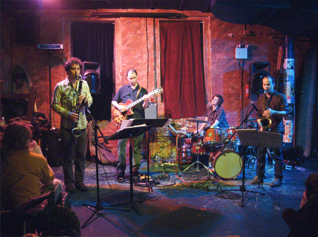 Human Feel with Chris Speed, Andrew D'Angelo, Kurt Rosenwinkel and Jim Black - Tea Lounge 2007