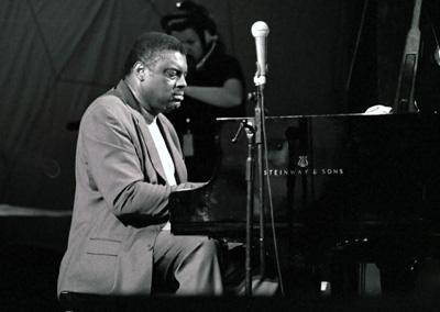 Mulgrew Miller 1203013 Brecon International Jazz Festival, Brecon, Powys, Wales. August 2002. Images of Jazz