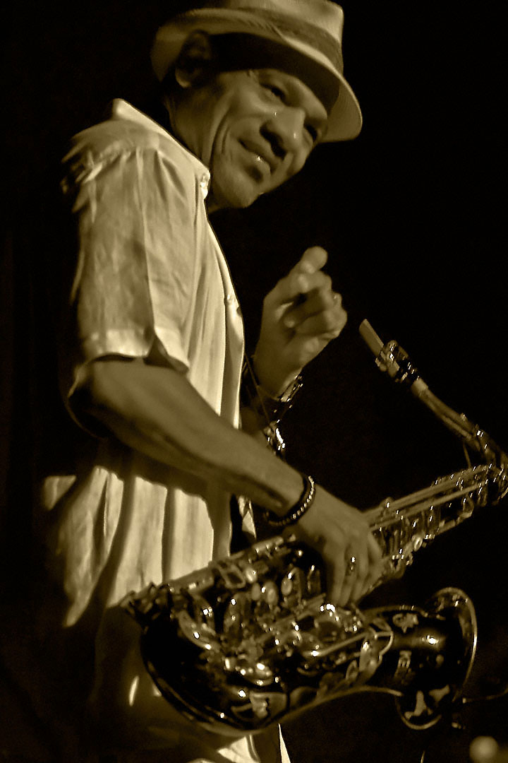 Kirk Whalum at the 2009 Columbia Jazzfest (MD)