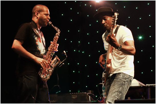 Alex han, marcus miller, marcus miller group, love supreme jazz festival