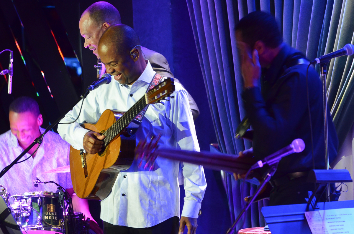 Earl Klugh at Blue Note in Nyc on 8-14-14