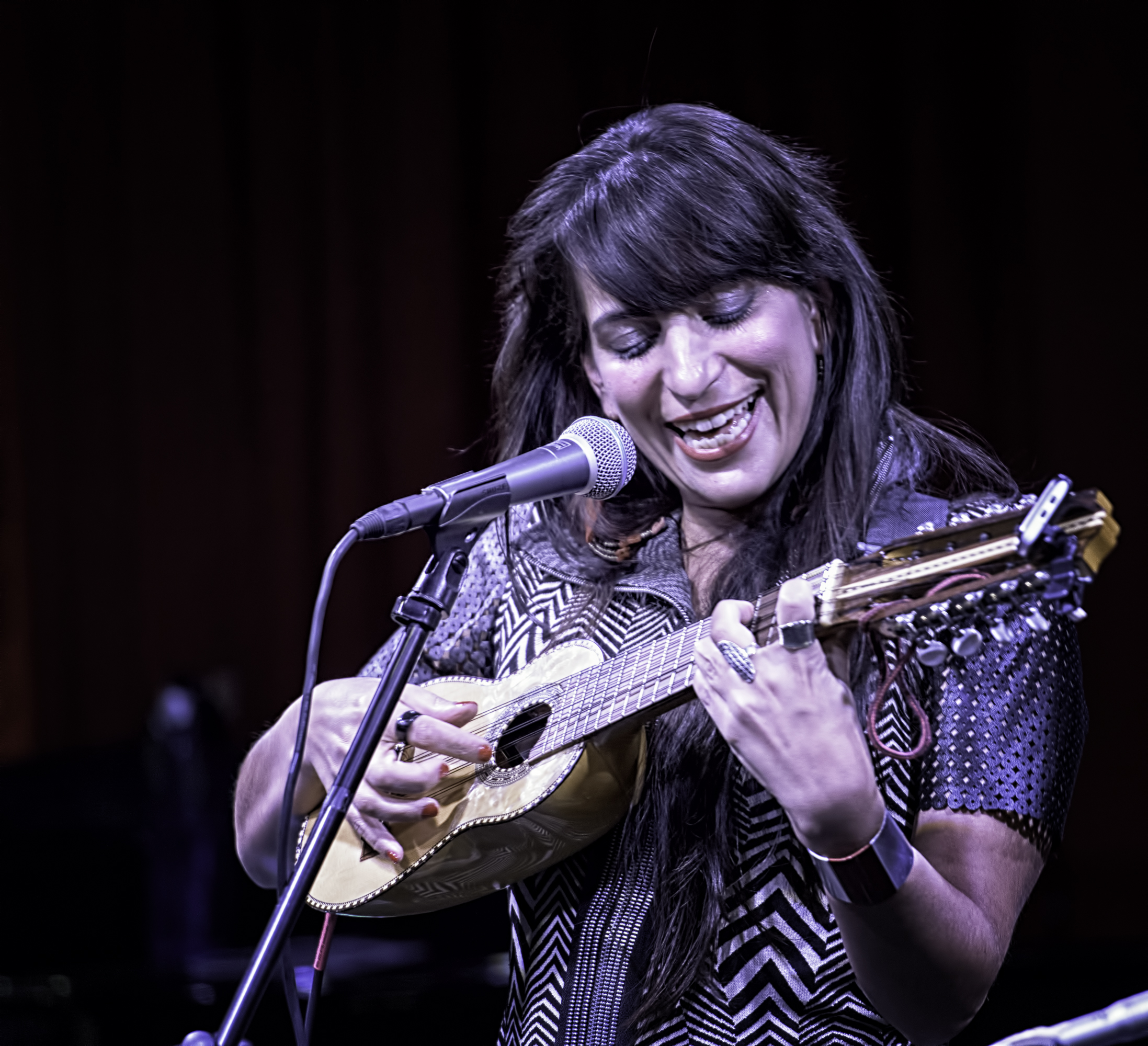 Sofia Rei At The NYC Winter Jazzfest 2016