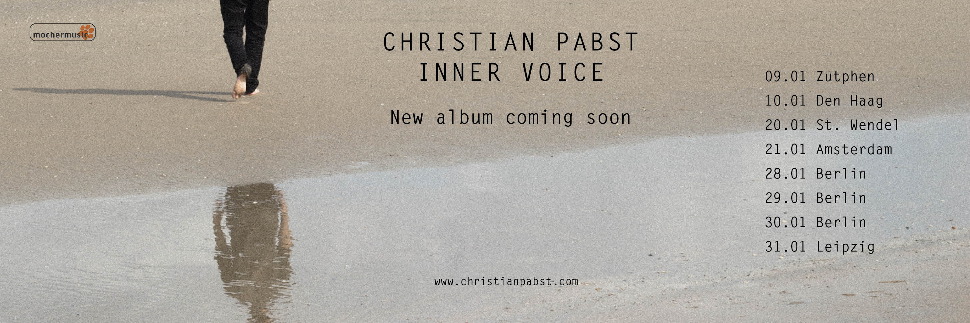 Christian Pabst Inner Voice Tour 2018
