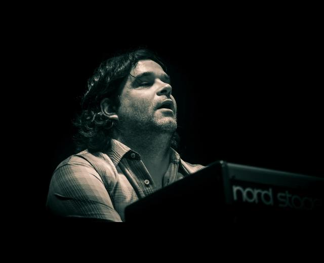 Keyboardist Matt Slocum