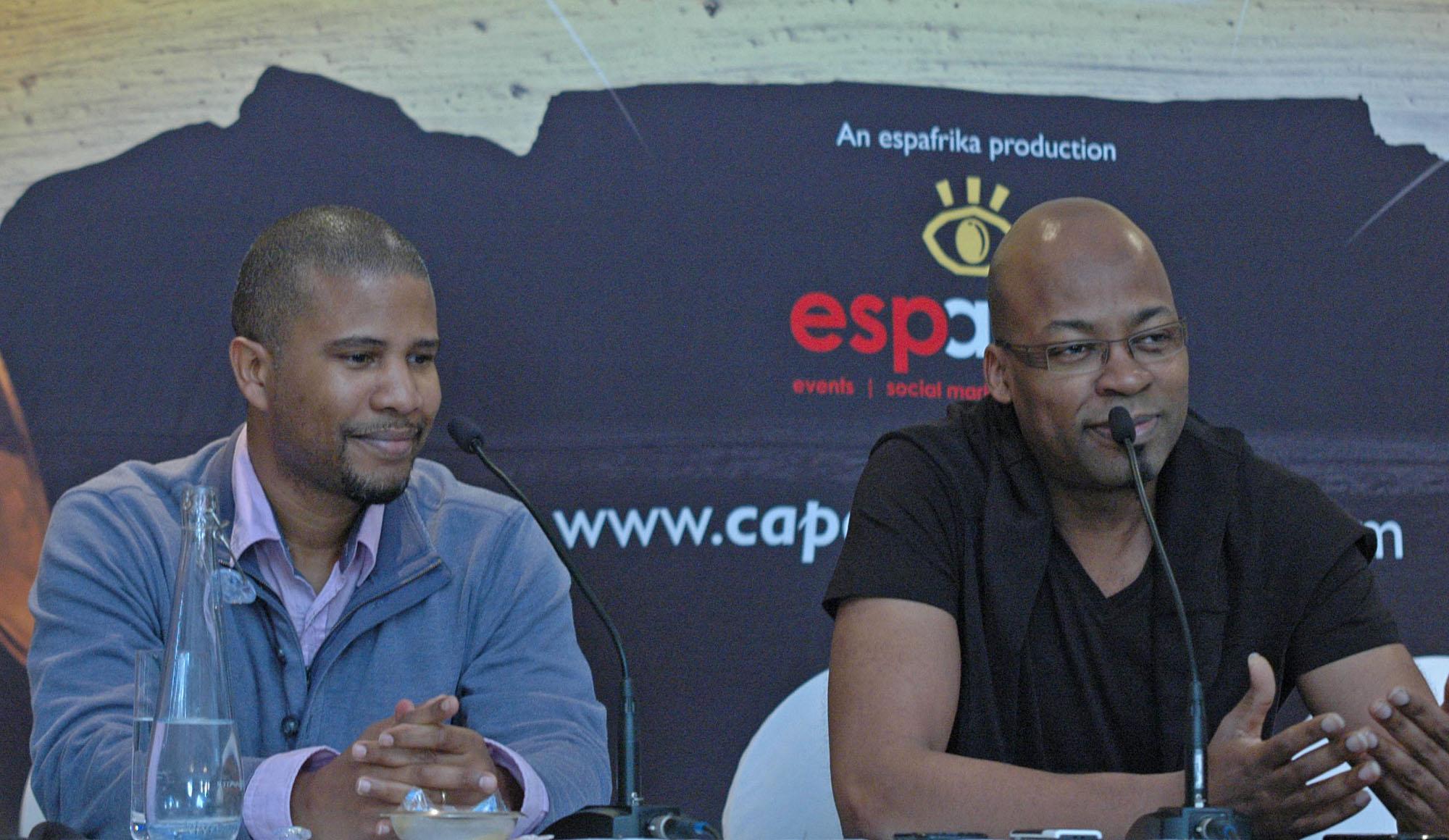 David Sanchez and Lionel Loueke, Cape Town Jazz Festival 2012