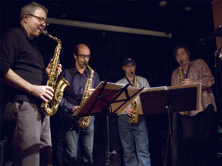Marty Ehrlich's Four Altos with Michal Attias, Ned Rothenberg &Amp; Andy Laster - Jimmy's 43 2007