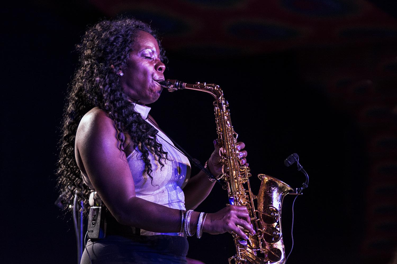 Tia Fuller at Monterey Jazz Festival 2017