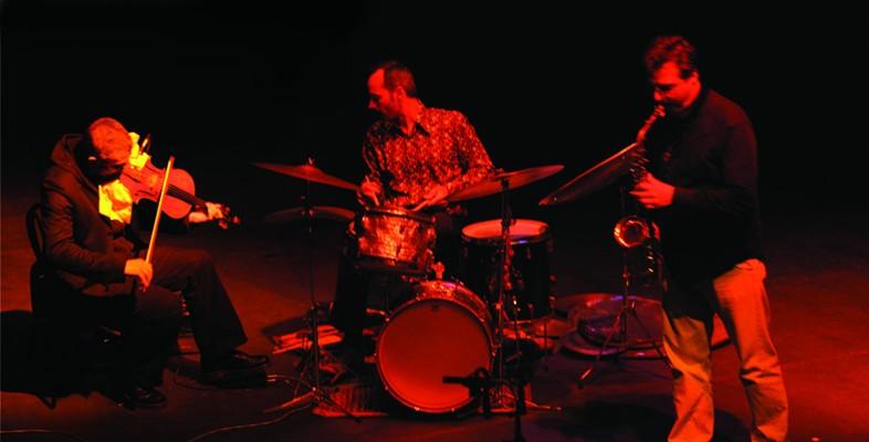 Mat Maneri, Michel Lambert and Franois Carrier 2006 Franois le Tromelin