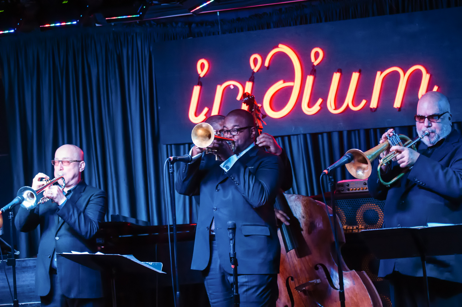 Brian Lynch, Jeremy Pelt and Randy Brecker with the Lords of Trumpet Play Dizzy Gillespie at the Iridium Jazz Club