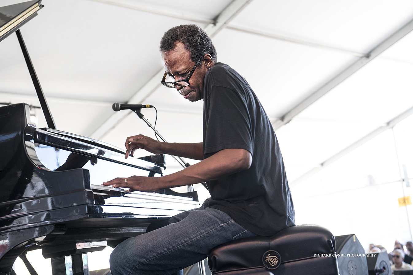 Matthew Shipp at the 2018 Newport Jazz Festival