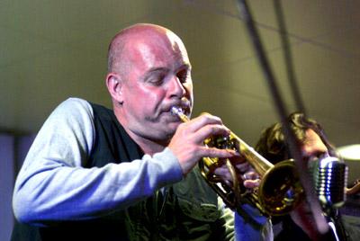 Damon Brown 27539 Jazz Hastings, Hastings, UK. April 2009. Images of Jazz