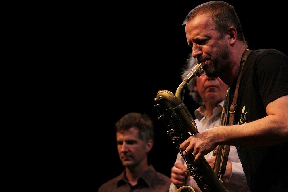 Jeb Bishop, Mats Gustafsson - Jazzdor Strasbourg (france) 2012