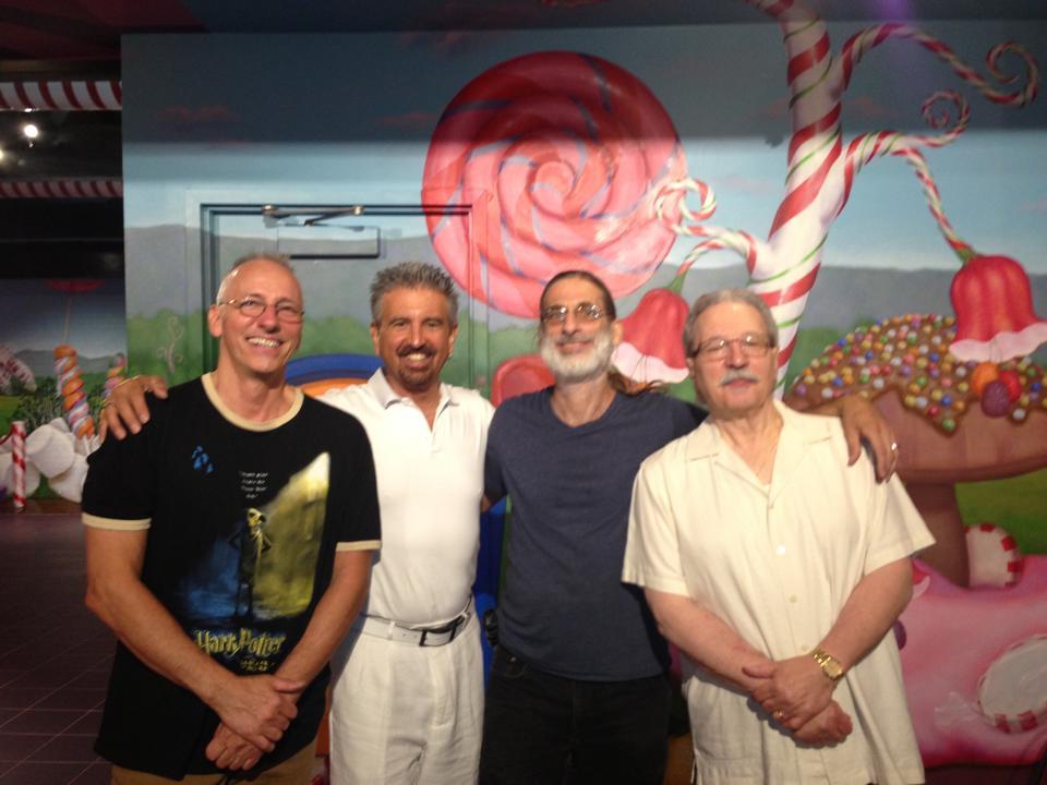Joe Dorris, Greg Hatza, Frank Singer and Ralph Lalama