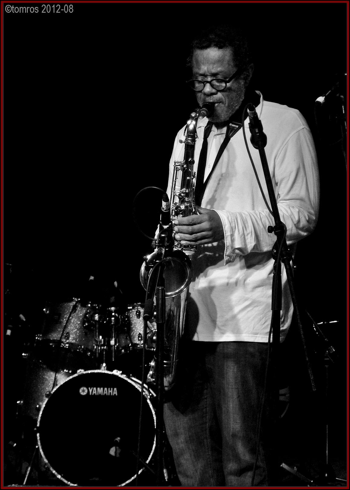 Don Byron at Markham Jazz Festival, August 18, 2012