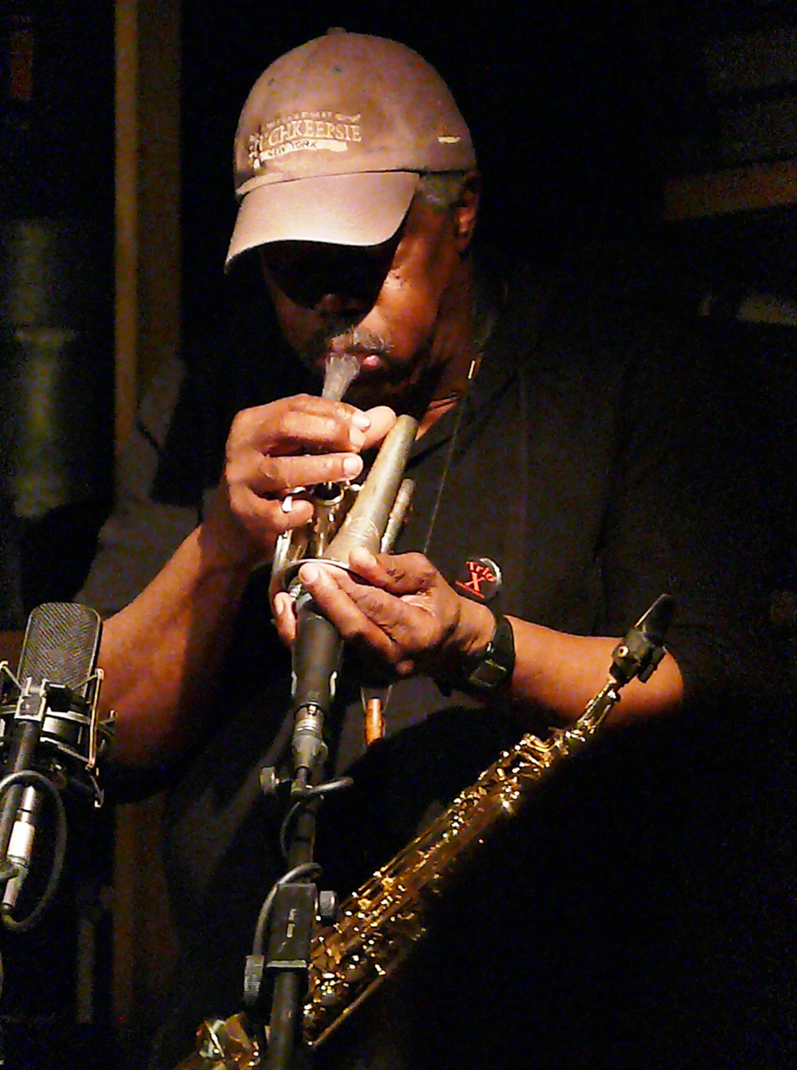 Joe McPhee at Cafe Oto in March 2017