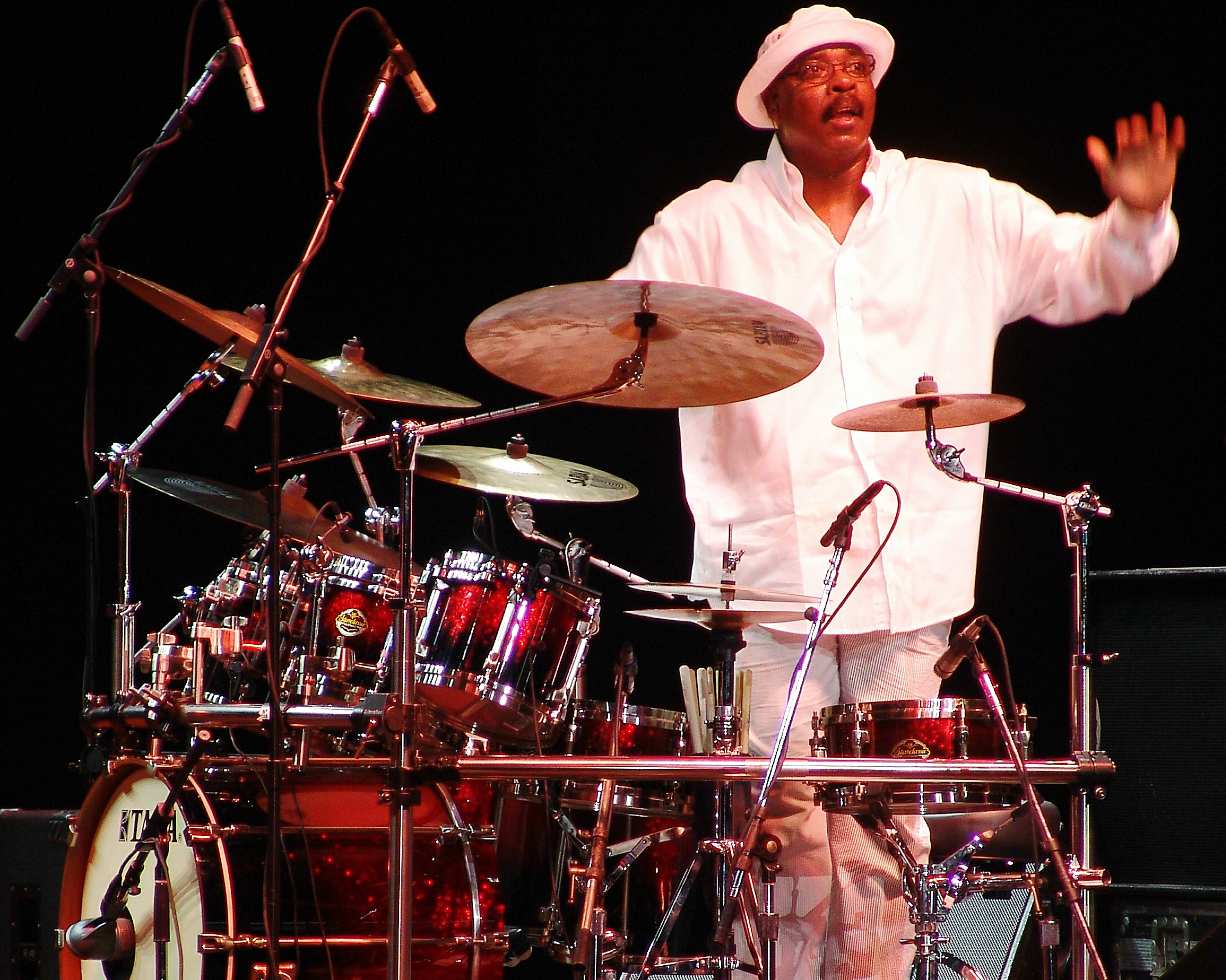 Harvey Mason of Fourplay, 2006 Capital Jazzfest (MD)