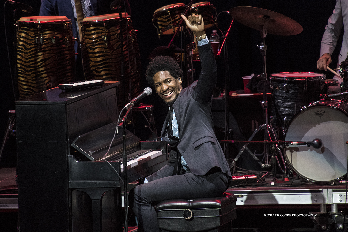 Jon Batiste at the 2018 Freihofer Saratoga Jazz Festival