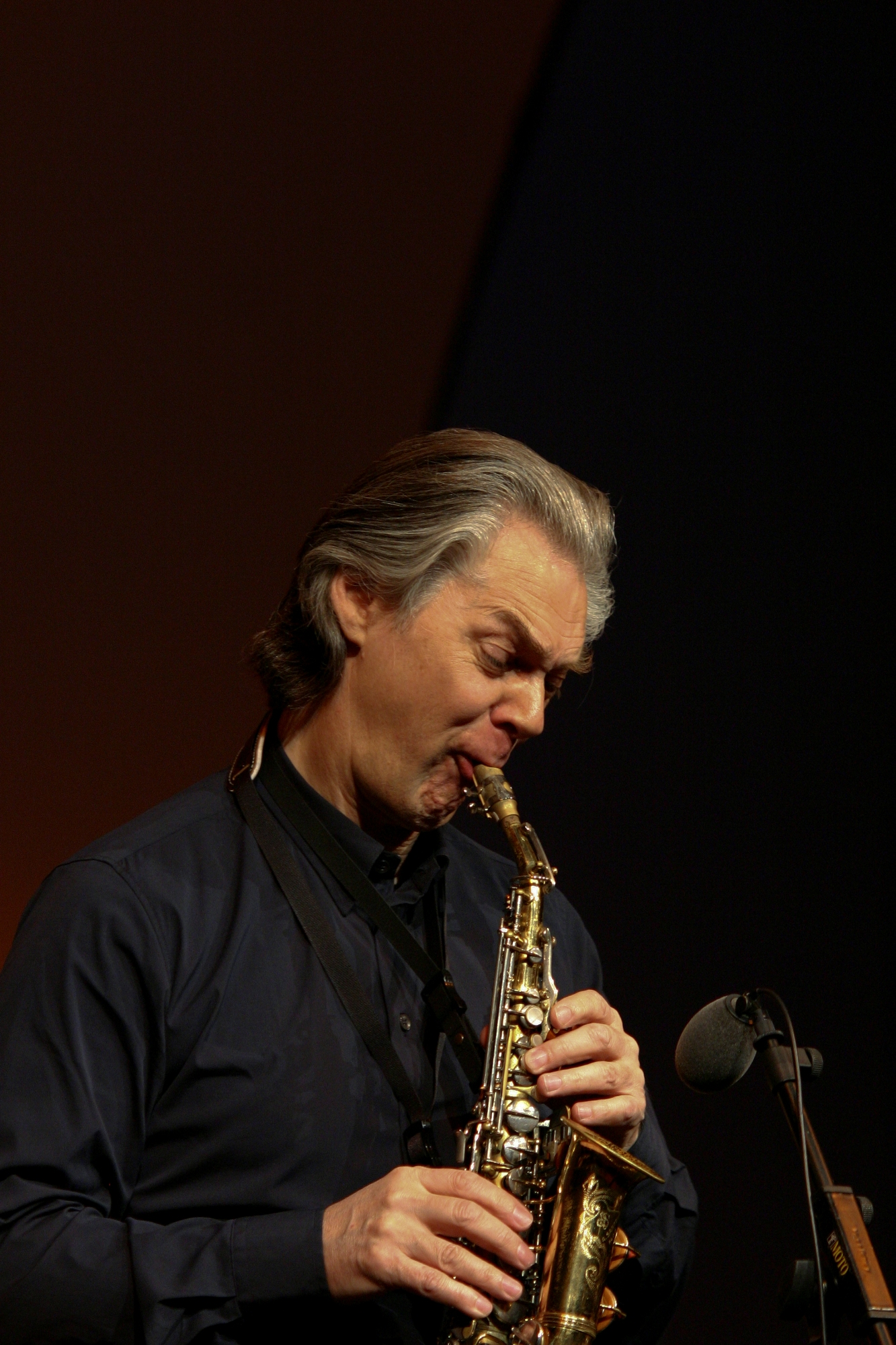 Jan Garbarek (Sopranosax) on Copemhagen Jazz Festival 2007, Denmark