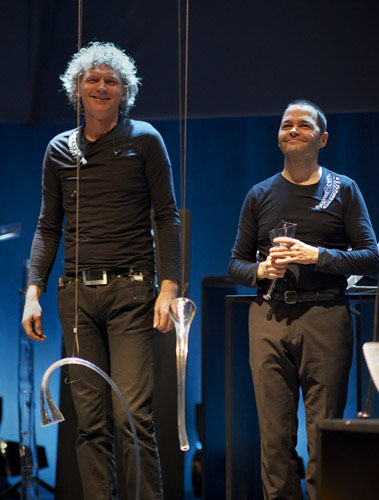 Terje Isungset and Arve Henriksen in Tallinn