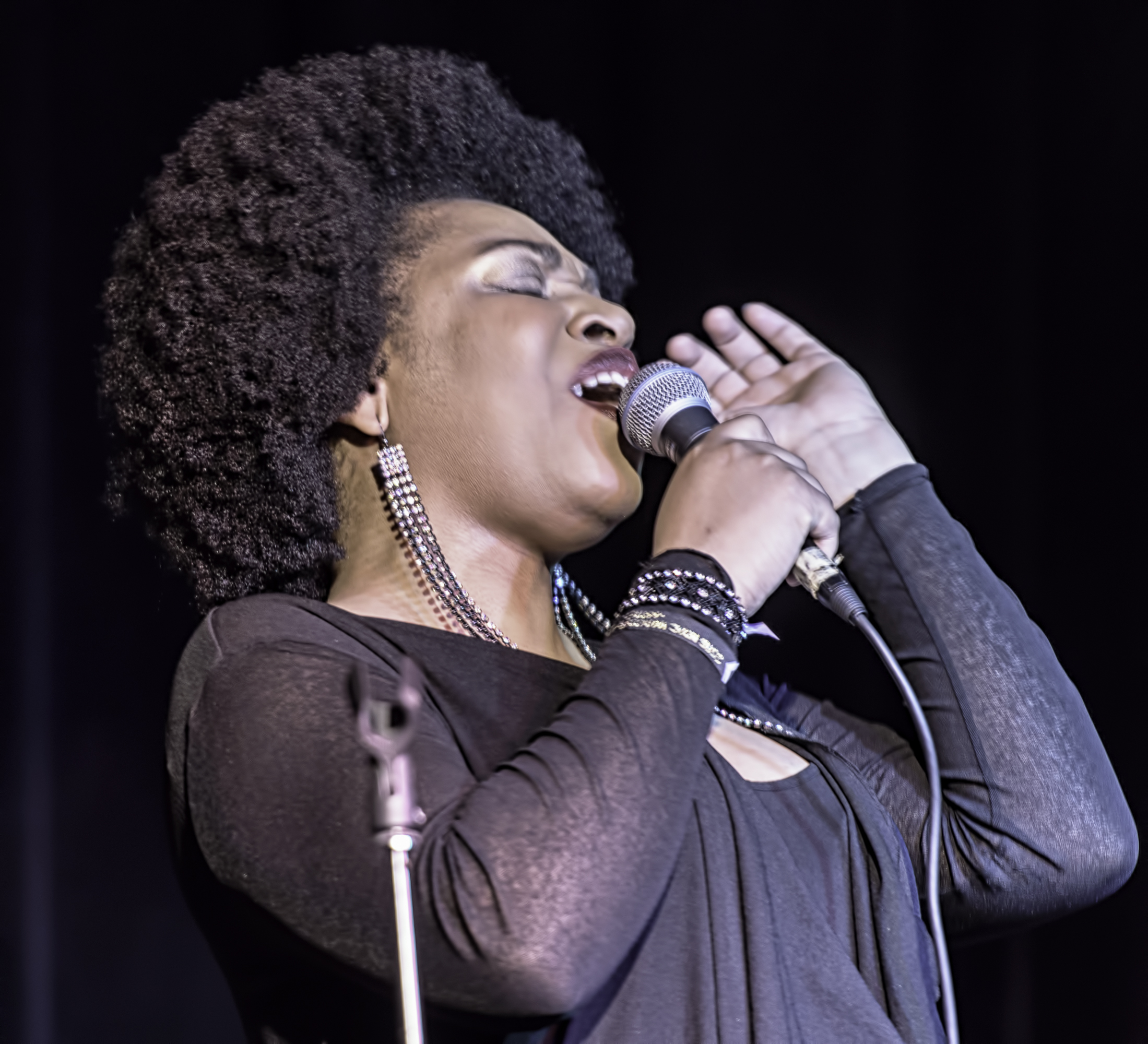 Charenee Wade at the NYC Winter Jazzfest 2016