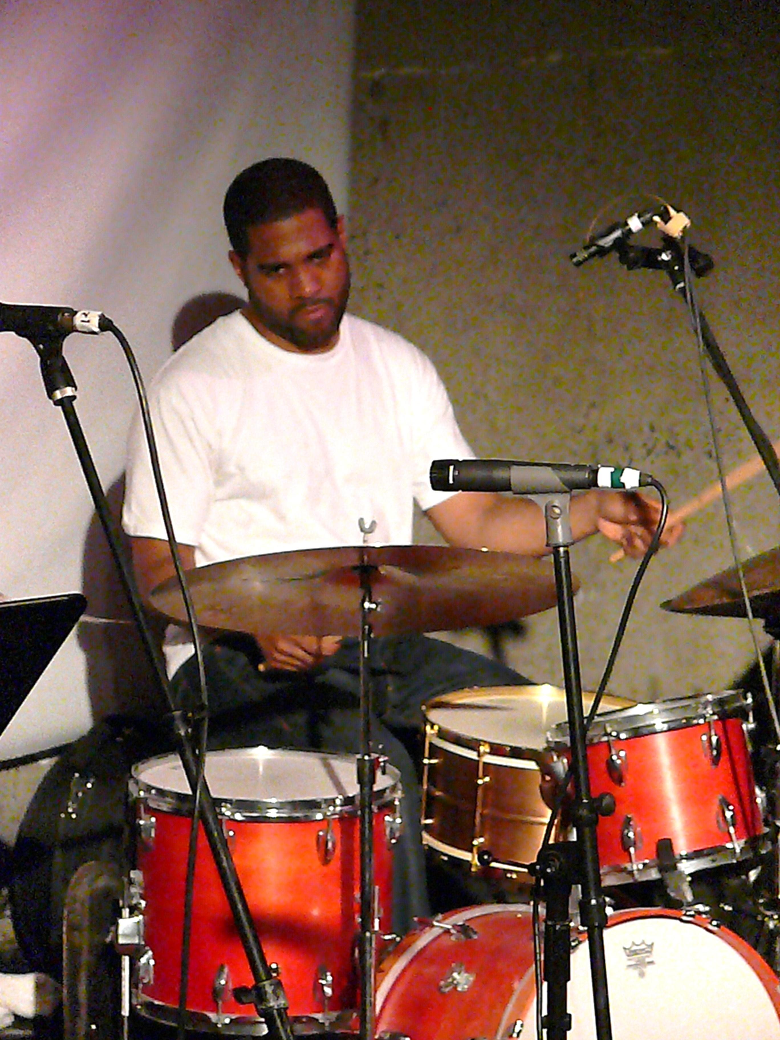 Damion Reid at Vision Festival 2011