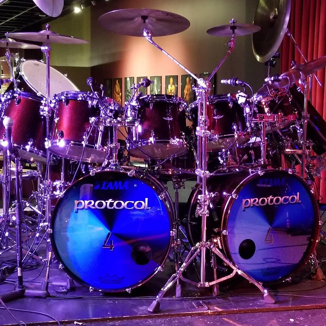 Simon Phillips Drum Kit