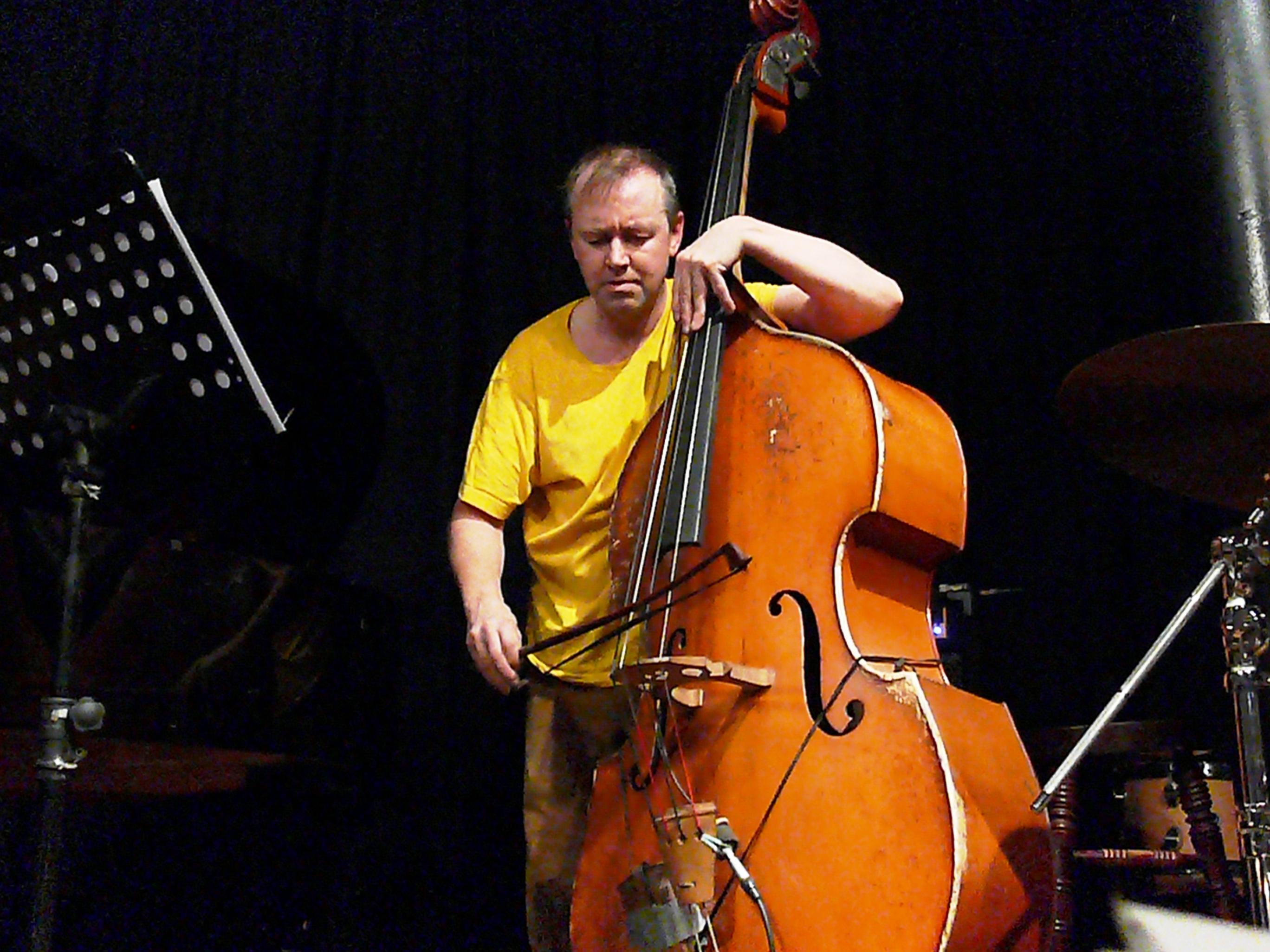 John edwards at the vortex, london in february 2013