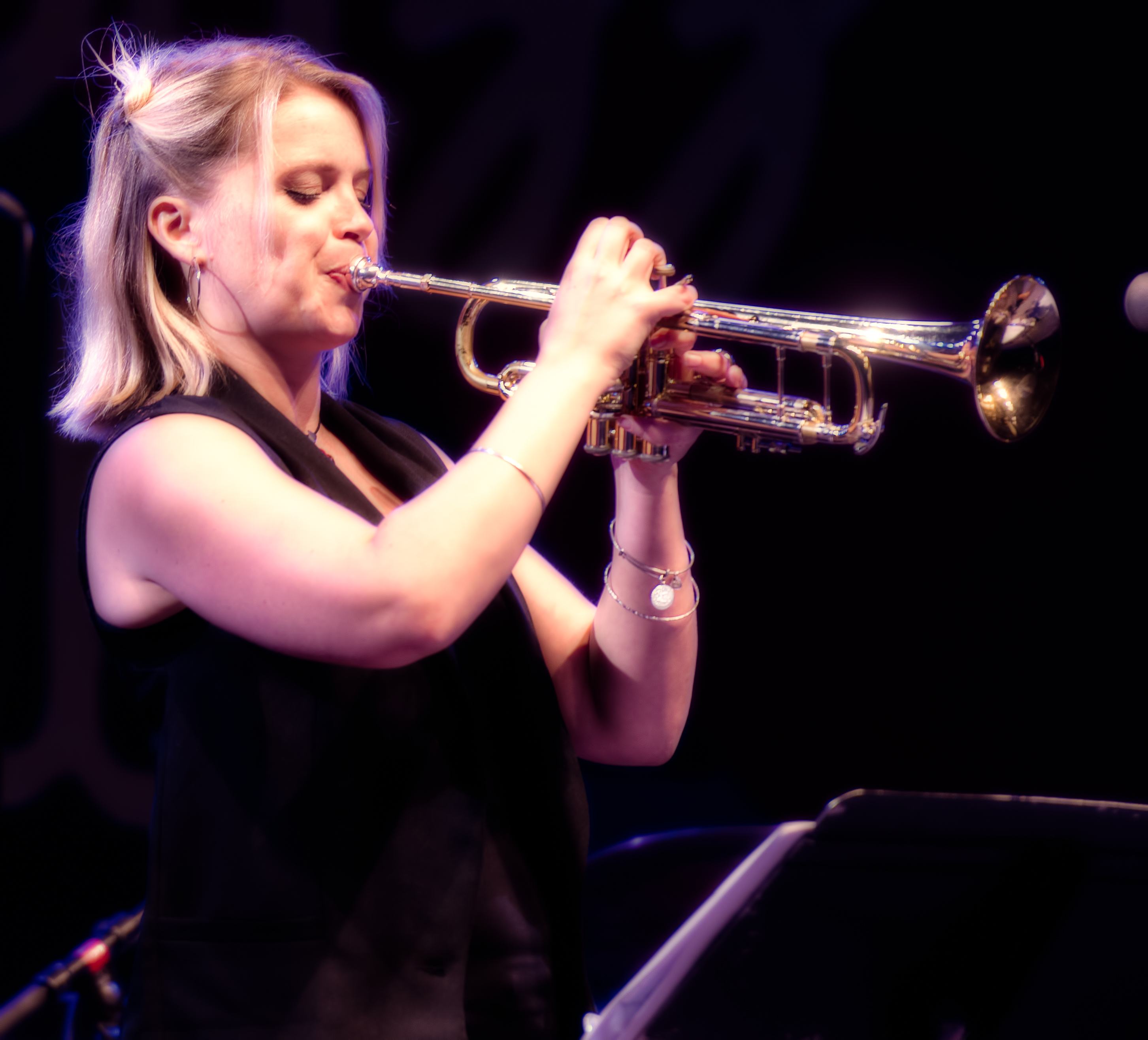 Bria Skonberg with MJF on Tour 60th Anniversary Edition at the Monterey Jazz Festival 2018