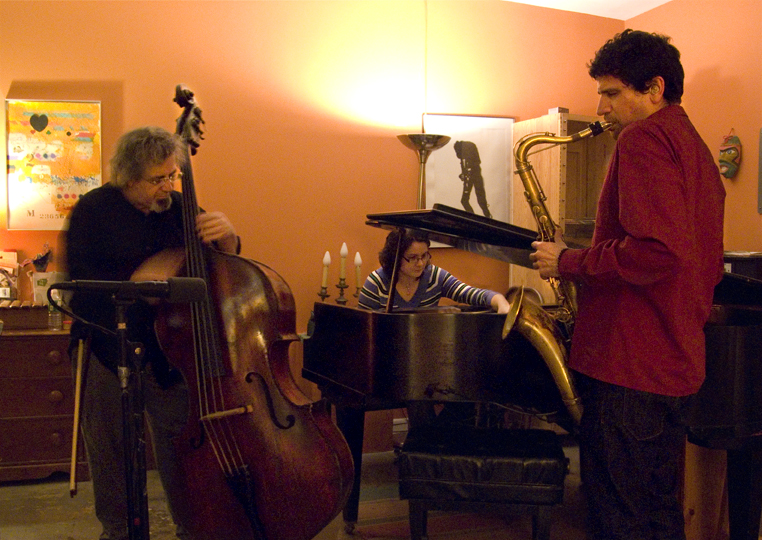 Stephen Gauci Trio with Michael Bisio and Kris Davis - 5-C Caf 2008