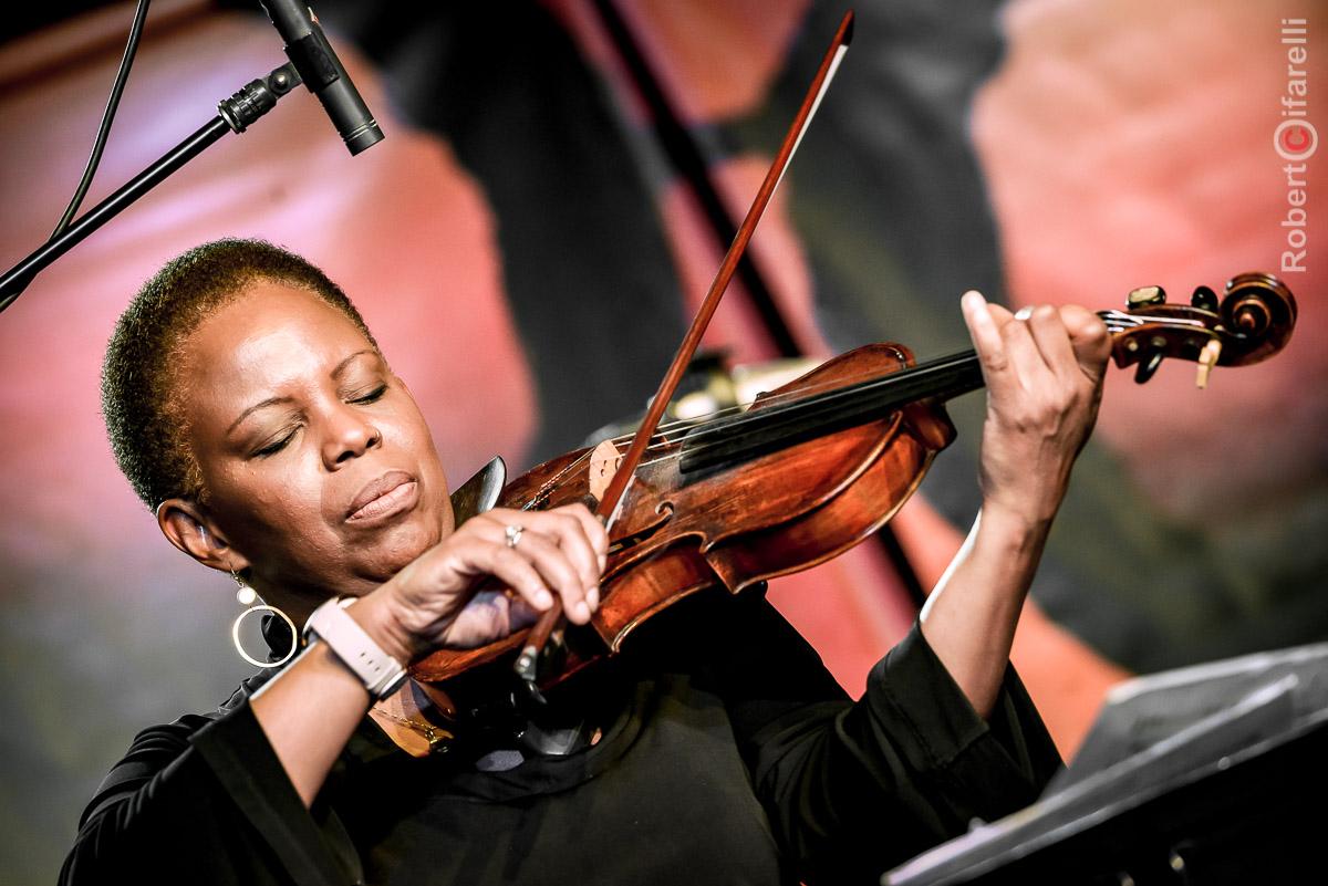 Regina Carter - 60th Monterey Jazz Festival, 2017