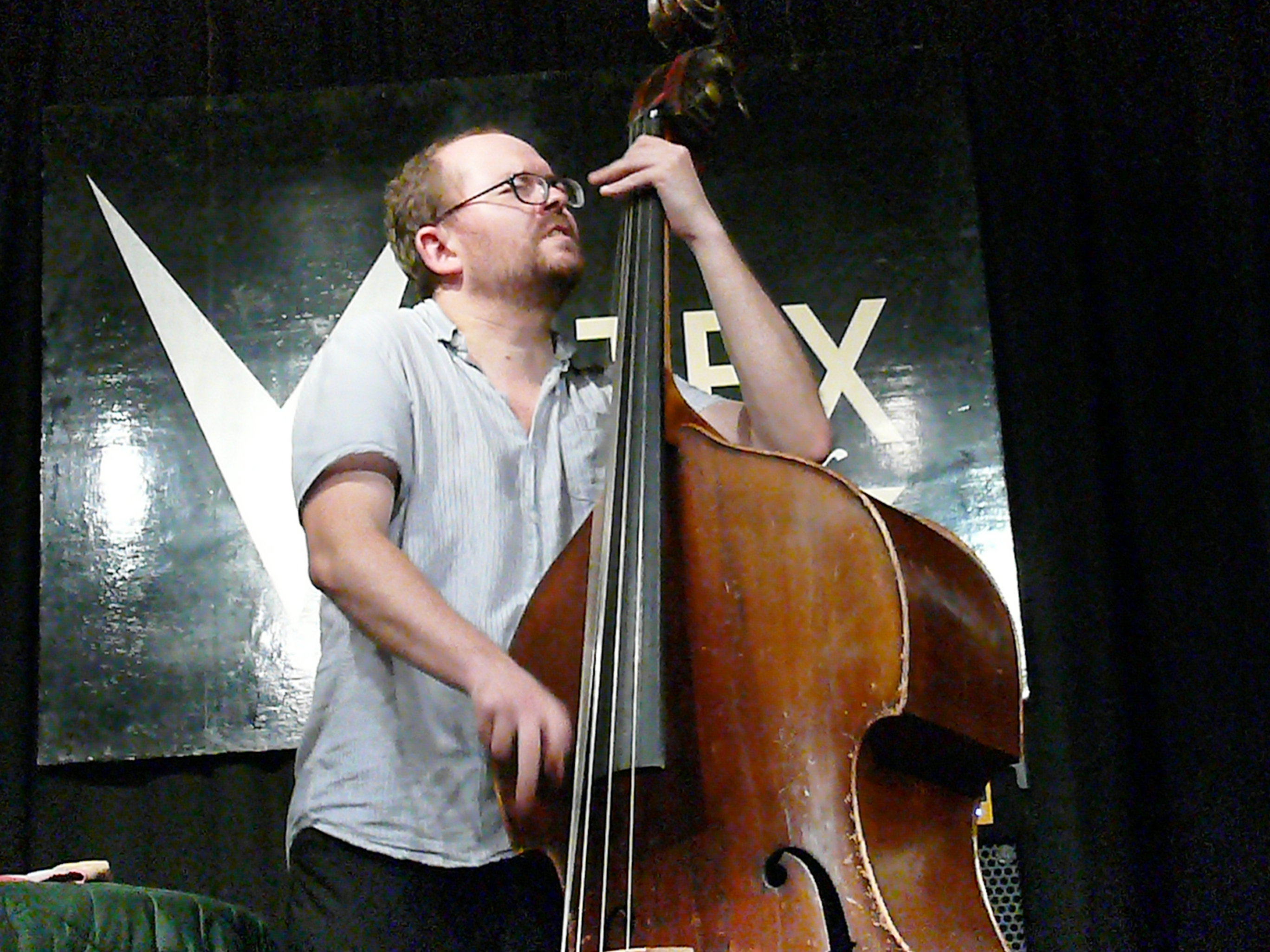 Olie brice at the vortex, london in september 2013