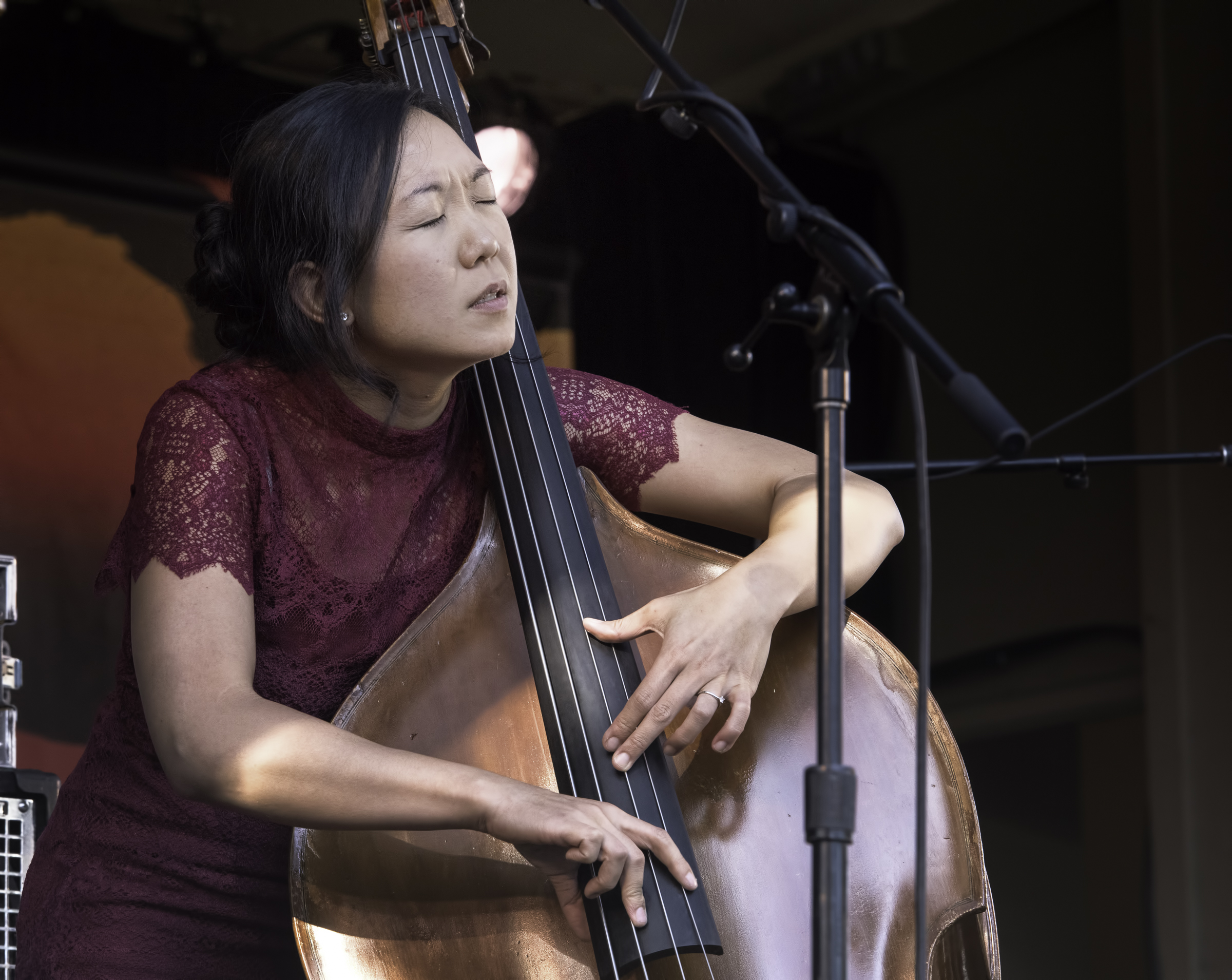 Linda May Han Oh with Quintet at the Monterey Jazz Festival