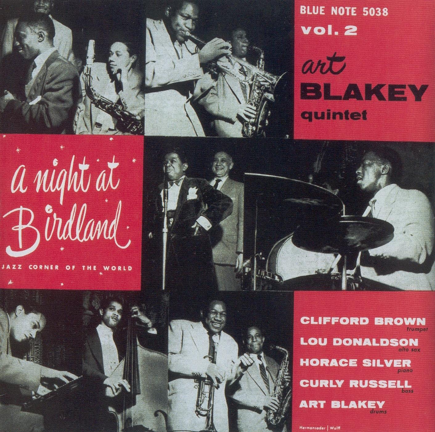 Art Blaket Quintet - A Night at Birdland II (Blue Note, 1954)