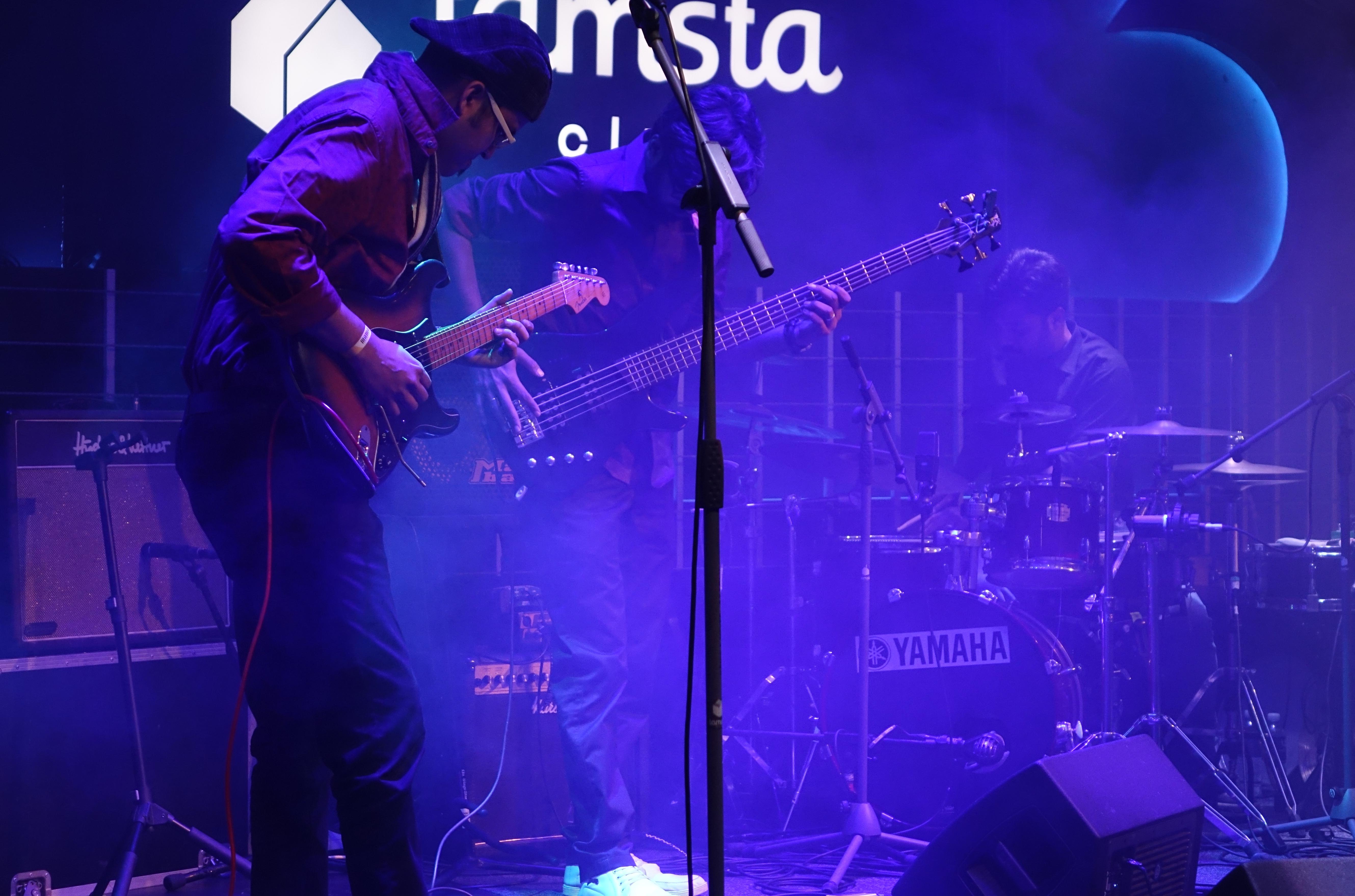 The Bodhisattwa Trio at the Vilnius Mama Jazz Festival in November 2017