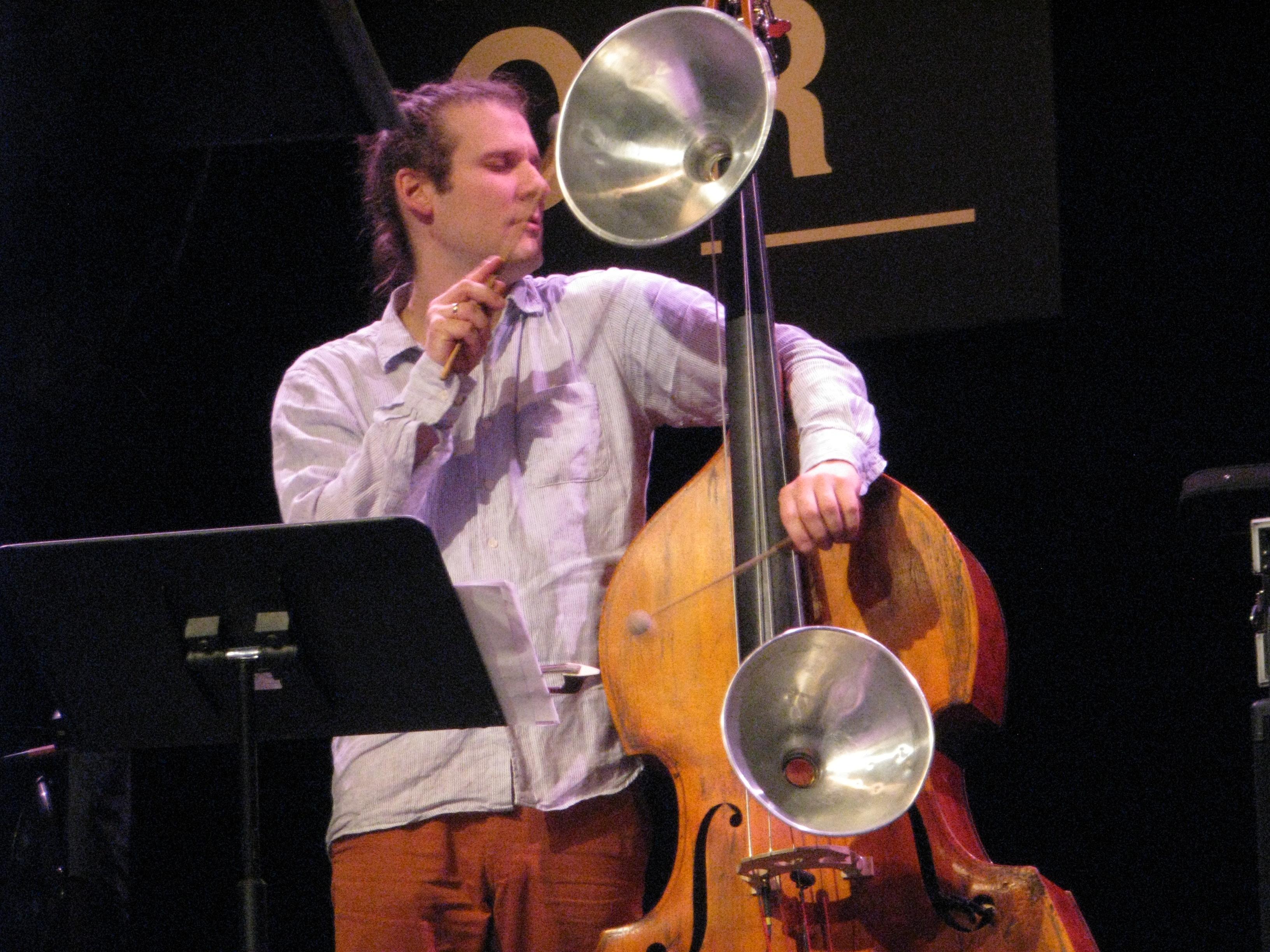 Pascal Niggenkemper Jazzdor Strasbourg 2014