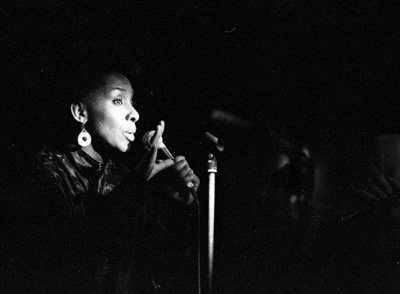 Elaine Delmar 0430404 Ronnie Scott's, London. 1987 Images of Jazz